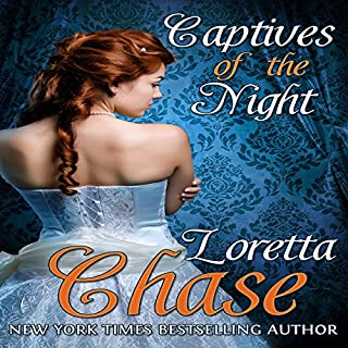 Captives of the Night audiobook cover art