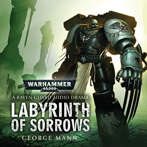 Labyrinth of Sorrows audiobook cover art