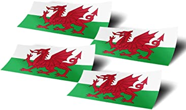 CafePress Welsh Flag With Text Oval Sticker Sticker Oval 145706895