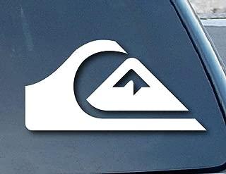 Quiksilver Surf Car Window Vinyl Decal Sticker 4