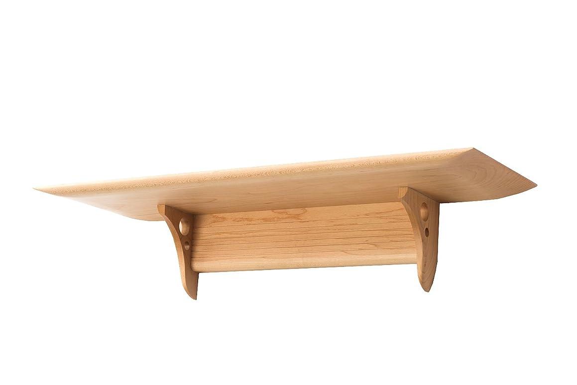 神棚の里 洋風モダン神棚板 Kaede メイプル製 - ブラウン