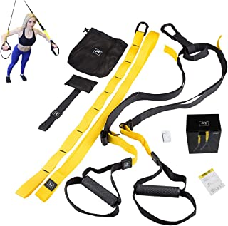 ZIQIAN Fitness Training Equipment Set Ultra Durable Straps for Upper Body Workout be Used for Indoor as Well as for Outdoor Equipment
