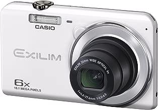 CASIO digital camera EXILIM EX-ZS28WE wide-angle 26mm optical 6x zoom premium auto 16.1 million pixels (White)