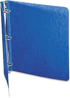 ACCO Presstex 1 Inch Ring Binder, 8.5 x 11 Inch Sheet Size, Dark Blue (A7038613A)