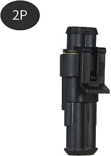 Leepesx Spina connettore elettrico impermeabile a 5 pin a 2 pin con terminali maschio e femmina 5 Spina connettore filo elettrico per auto kit per camion auto
