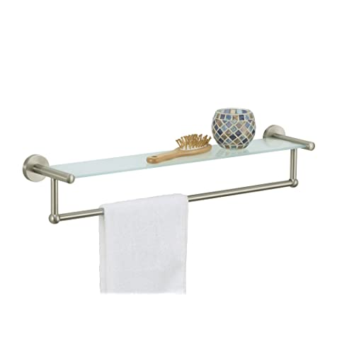 Towel Rack Brushed Nickel Amazoncom