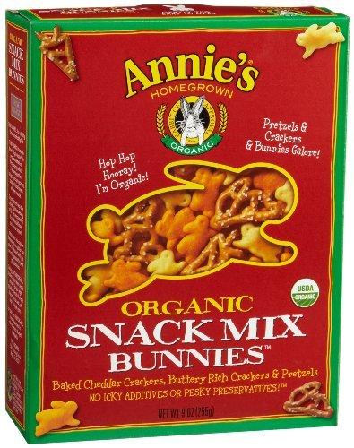Sale Annie's Homegrown Bunnies Snack 9 Mix 12x Oz Ultra-Cheap Deals