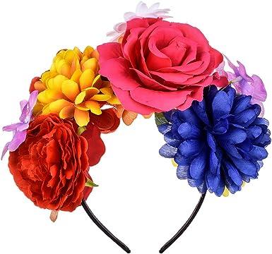 manual ansiedad Solitario  Amazon.com: DreamLily Frida Kahlo - Diadema con corona de rosas mexicanas  para fiesta de Halloween, disfraz de Halloween NC26, M: Clothing