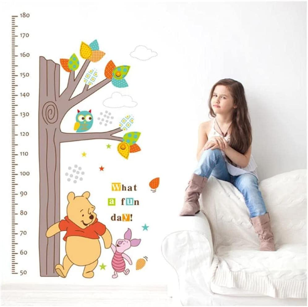 Cartoon Growth Chart Tree Winnie The Measurement Children Outlet sale feature Ranking TOP12 Height