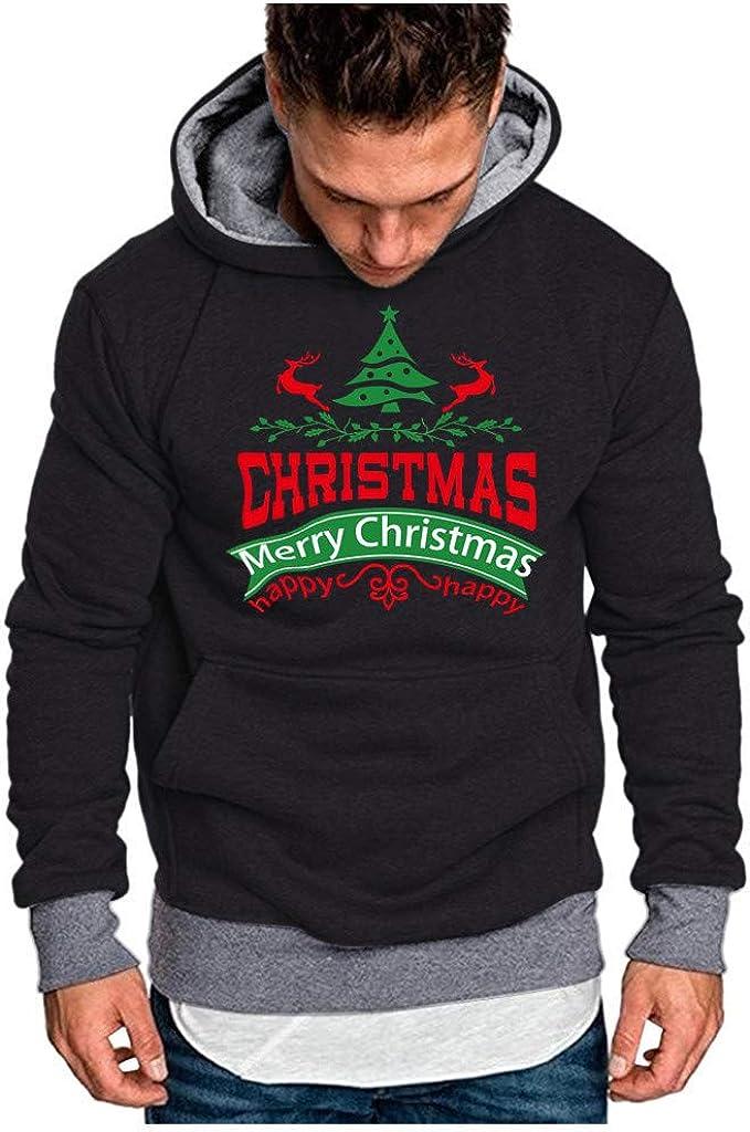 MODOQO Men's Pullover Hoodies Long Sleeve Soft Warm Winter Outwear with Pocket