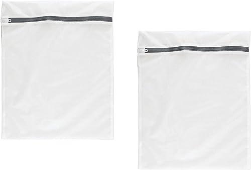 NOVAGO Lot de 2 Filets à Linge (Sac de Lavage) spécialement conçu pour Vos linges sensibles ou de qualité (Taille S 3...