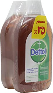 Dettol Antiseptic Liquid 500ml - Set Of 2