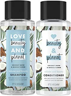 Love Beauty and Planet Volume And Bounty Coconut Water & Mimosa Flower Shampoo 400 ml + Conditioner 400 ml