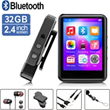 MP3Player, MP3 Player with Bluetooth, 32GB Portable Music Player with FM Radio/Recorder,..