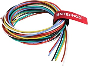 BNTECHGO 20 Gauge Silicone Wire Kit Ultra Flexible 7 Color High Resistant 200 deg C 600V Silicone Rubber Insulation 20 AWG...
