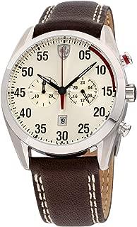 Men's 0830174 D 50 Analog Display Quartz Brown Watch