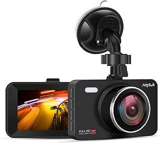 """Anytek Cámara de Coche 1080P Full HD, Dash CAM IPS de 3"""" Pantalla con 170 °Gran Ángulo, Sensor G, DDR,Grabación de Ciclo y Detección de Movimiento"""