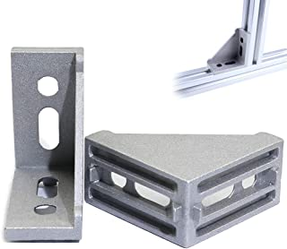 Boeray 8pcs 4080 Inside Corner Bracket Gusset for 4040 or 4080 Series Aluminum Extrusion Profile with Slot 8mm