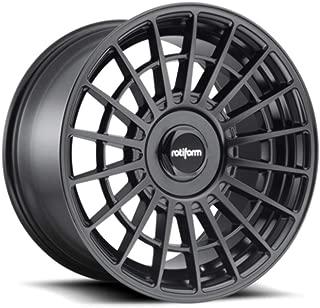 17x8.0 Rotiform R142 LAS-R Wheel 30mm 5x100 BD -Matte BLK BD -Matte BLK