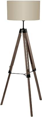 Félis 5100055 Eiffel lámpara de pie textura/madera 32 W ...