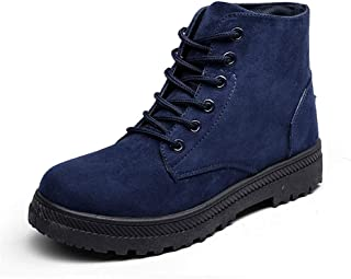 Jtomoo Women's High Top Snow Boots Winter Casual Lace Up Ankle Bootie