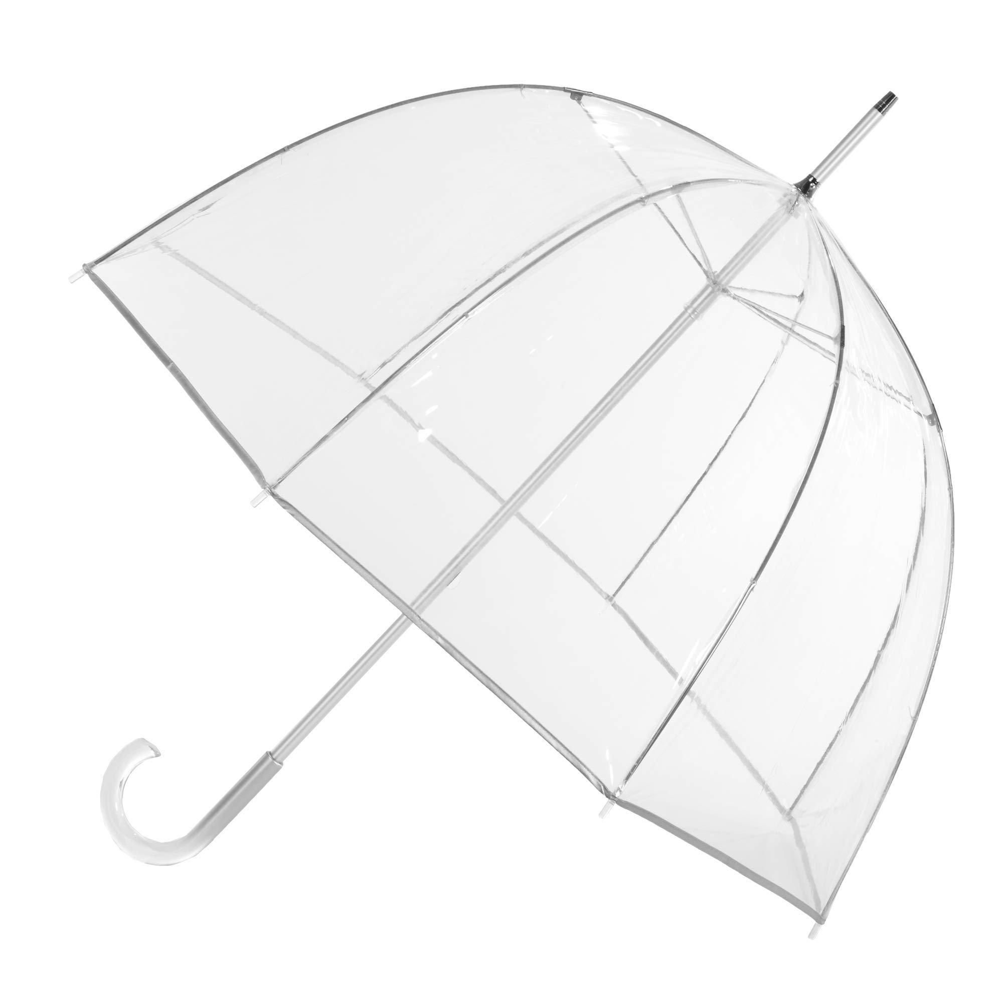 totes Signature Clear Bubble Umbrella