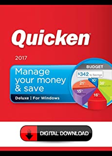 [Electronic Delivery] Quicken Deluxe 2017 Windows 10/8.1/8/7 - Check message and/or email for your link to download