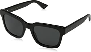 Gucci Sunglasses For Unisex, Gg0002S-005-46, Silver Lens, Round Frame