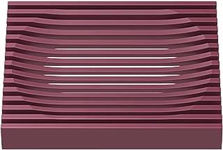 HEIGOO Porte-Savon en Silicone,14 * 8.2 * 1.4cm Porte-Savon en Caoutchouc de Silicone Durable, Utilisation pour Savon, épo...