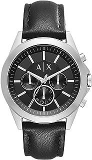 Armani Exchange Men's Leather Band Watch
