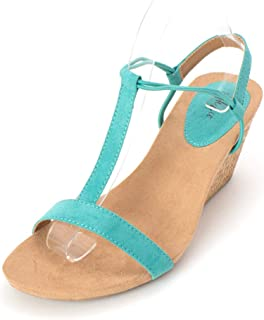 Womens Mulan 2 Open Toe Special Occasion Platform, Teal, Size 7.0