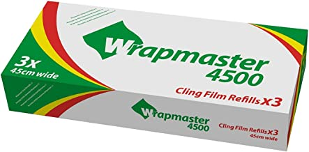 """WRAPMASTER 4500 18/"""" BAKING PARCHMENT PAPER REFILLS BOX OF 3"""