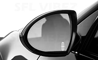 Lincoln Mirror Decal Vinyl Sticker Emblem Car Truck Logo JDM Creative Easy DIY