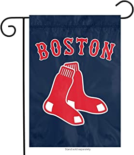 Party Animal Boston Red Sox PA Garden Window Flag Banner Applique Embroidered Baseball