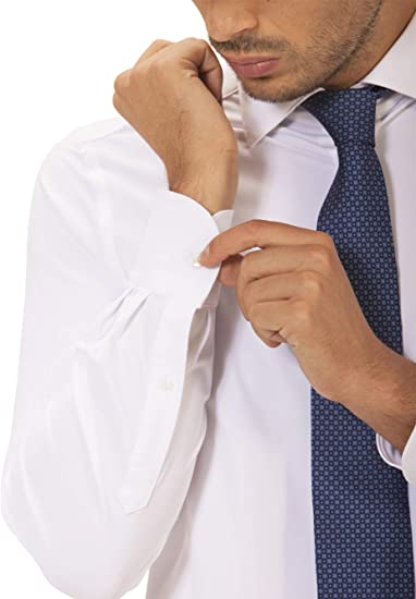 Wave Futura - Camisa de Hombre Milano: Tejido técnico, Slim ...