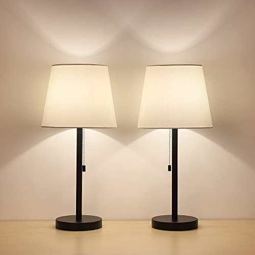 . Black and White Lamps  Amazon com