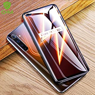 Jellyfish-Phone Screen Protectors - Hydrogel film for realme 6 pro 6i screen protector soft curved protective film for opp...