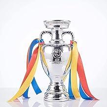 Football Trofeeën, UEFA Euro Herdenkingsinzameling Trofeeën, Europese Champions Cup-Trofeeën Met Linten, Voetbalsportdecor...