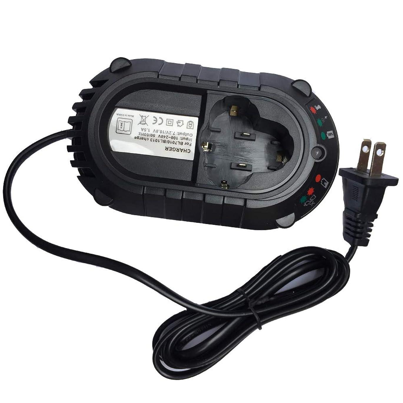 定説試みドナウ川マキタ充電器 DC10WA BL1013 BL7010充電器 for makita 7.2V-10.8V 対応 DF030D DF330D DF330DWE DF030DWE TD090D HP330DWE等対応 互換用 バッテリー用 チャージャー