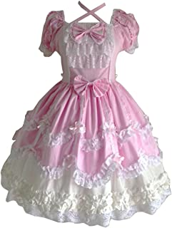 Women's Gothic Princess Cosplay Sweet Lolita Dress