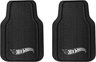 Pilot Automotive HOT-3000 Hot Wheels Tire Tread Pattern with Logo Floor Mat