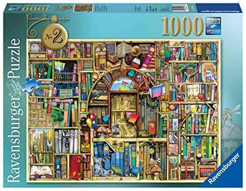 Ravensburger Puzzle 19418 - Magisches Küchenregal Nr.2 - 1000 Teile Puzzle für Erwachsene und Kinder ab 14 Jahren, Motiv von Colin Thompson