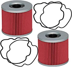 HIFROM Oil Filter for Suzuki GS250 GS400 GS425 GS550 GS550D GS550E GS550L GS750 GSX750 GS850G GS850GL GSX750 GS1000GL GS1000 GS1000E GS1000L GS1000S and more replace KN133 HF133