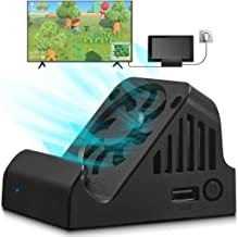 $26 » Sponsored Ad - Switch Dock, TV Projection Charging Dock for Switch, Cooling Fan Compact 4K HDMI Adapter, Portable Switch C...