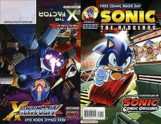Sonic Comic Origins and Mega Man X FCBD #2014 VF/NM ; Archie comic book
