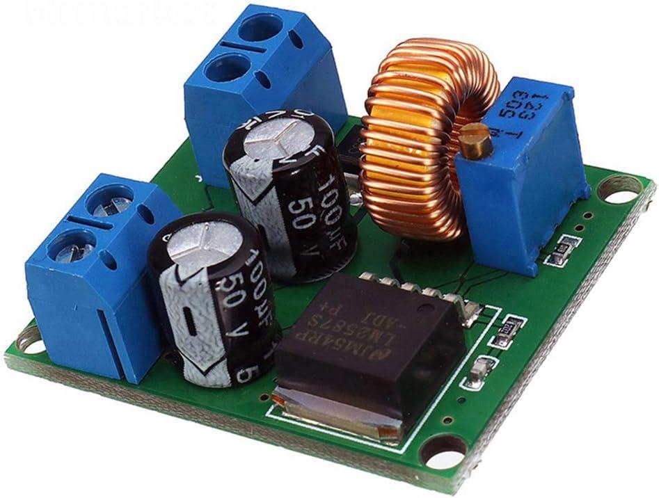 Taidacent 5 Pcs DC DC Adjustable Boost Voltage Regulator 3V-35V to 4V 40V High Power Step Up Converter Stabilized Power Supply Module
