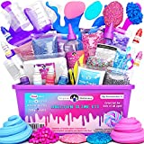 Original Stationery Unicorn Slime Kit Supplies Stuff for Girls Making Slime [Everything in One Box] Kids Can...
