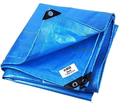 LYN Toile prougeectrice imperméable et résistante à l'usure de bache en cristal bleue de tissu de bache de prougeection de PE de bache de prougeection extérieure imperméable en tissu de prougeection solaire i