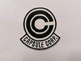 toppa Capsule Corporation DRAGON BALL Bulma cosplay patch 9x8cm