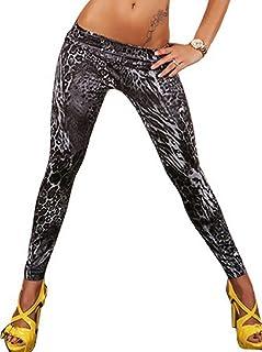 cb3331cca63 Inception Pro Infinite L3 - Leggings para Mujeres - Tipo de Jeans -  Estampado - Leopardo